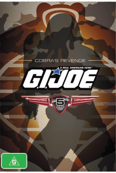 G.I. Joe: Cobra's Revenge Collection (5 Disc Set) on DVD