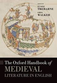 The Oxford Handbook of Medieval Literature in English image