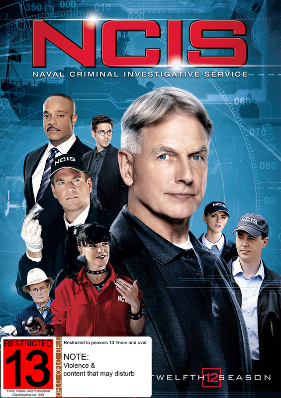 NCIS - The Complete Twelfth Season on DVD
