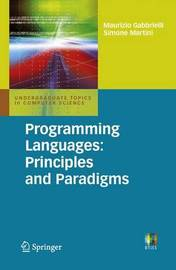 Programming Languages: Principles and Paradigms by Maurizio Gabbrielli image