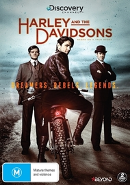 Harley & The Davidsons on DVD