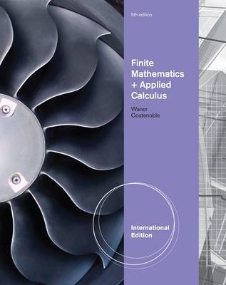Finite Math and Applied Calculus by Stefan Waner