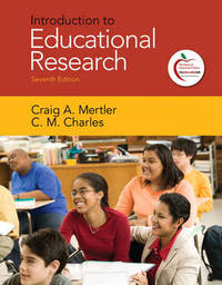 Introduction to Educational Research by Craig A. Mertler image
