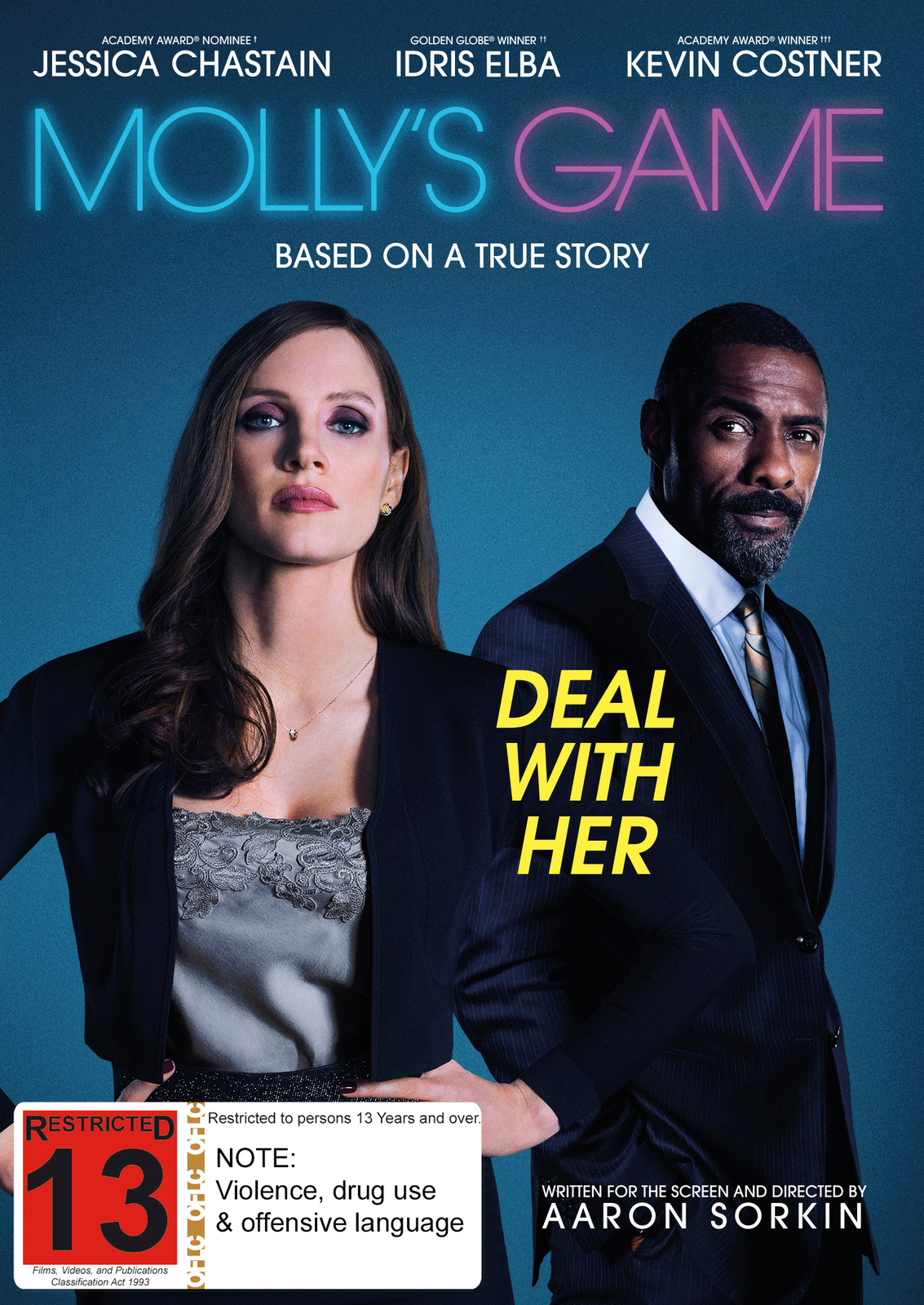 Molly's Game on DVD image