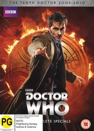 Doctor Who: The Complete Specials Collection on DVD