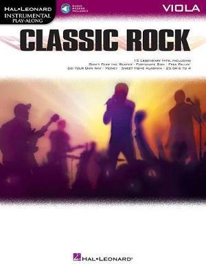 Classic Rock - Viola by Hal Leonard Publishing Corporation