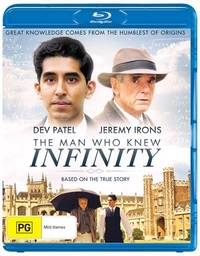 The Man Who Knew Infinity on Blu-ray