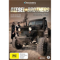 Diesel Brothers Season One on DVD