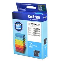 Brother LC-235XLC High Yield Ink Cartridge (Cyan)