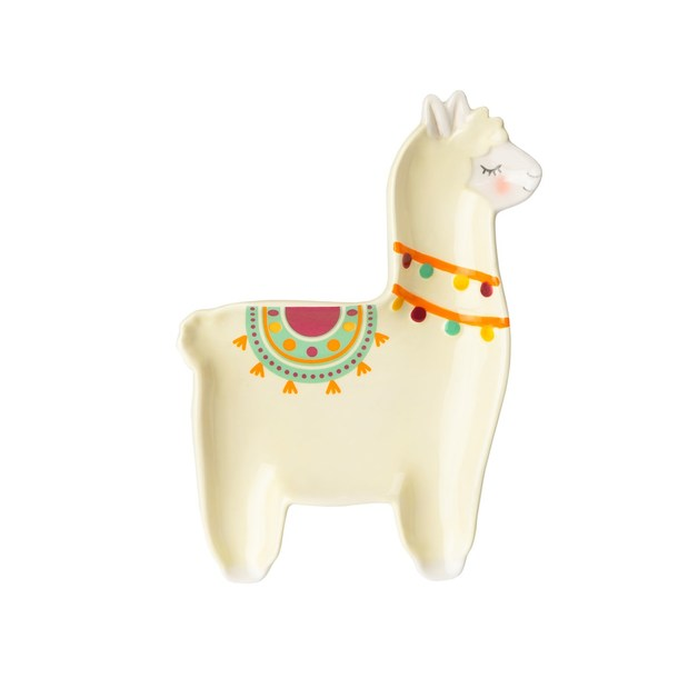 Party Llama Trinket Dish