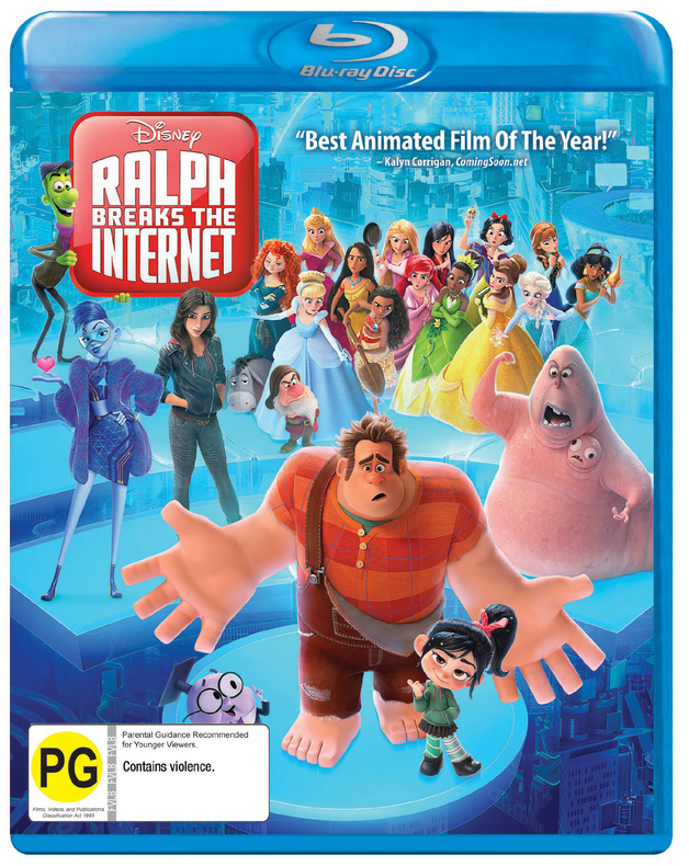 Ralph Breaks The Internet on Blu-ray