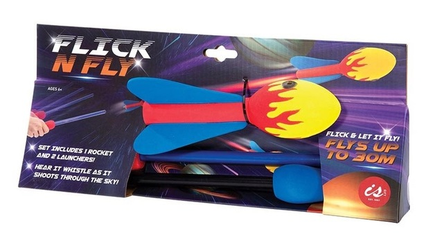 IS Gift - Flick n Fly Rocket