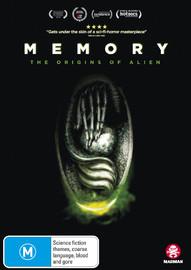 Memory: The Origins of Alien on DVD