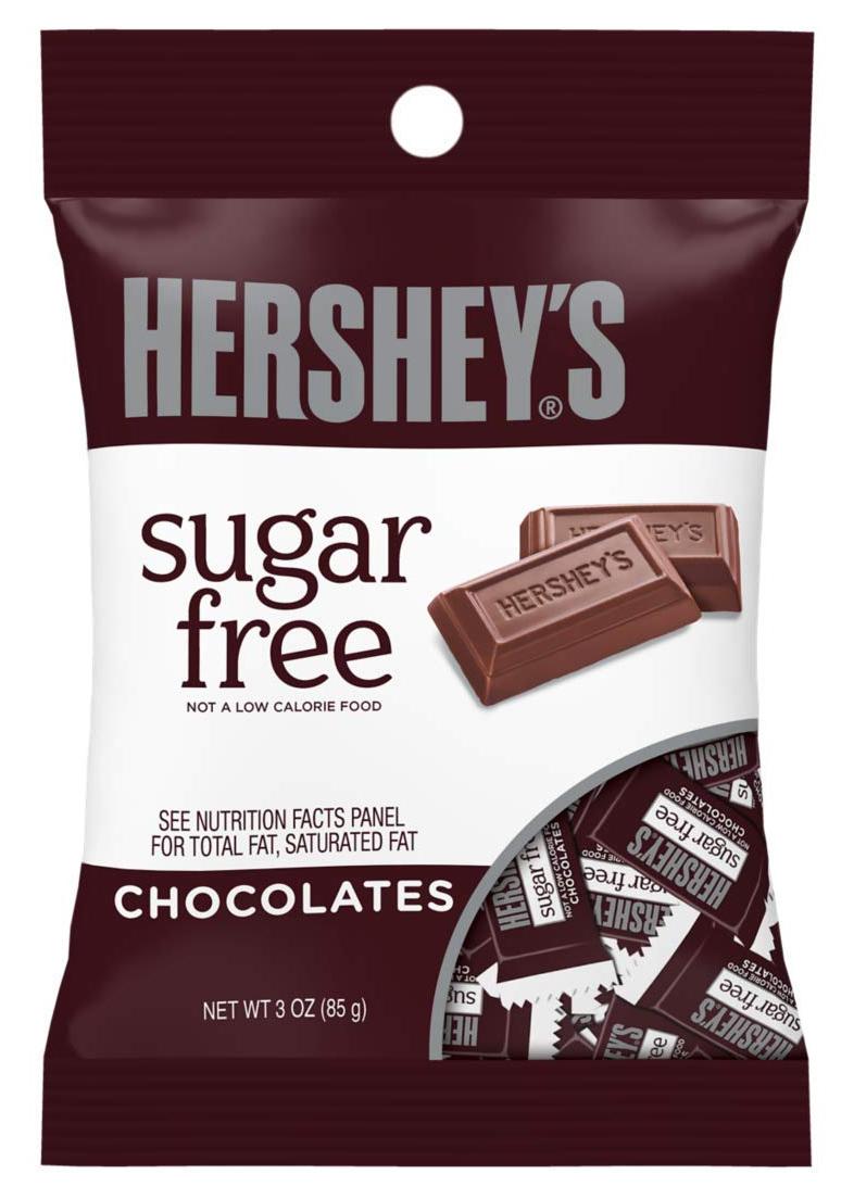 Hershey's Sugar Free Milk Chocolate (85gms) image