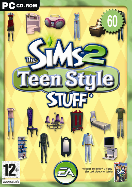 The Sims 2: Teen Style Stuff for PC Games