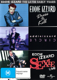 Eddie Izzard - The Later Early Years on DVD