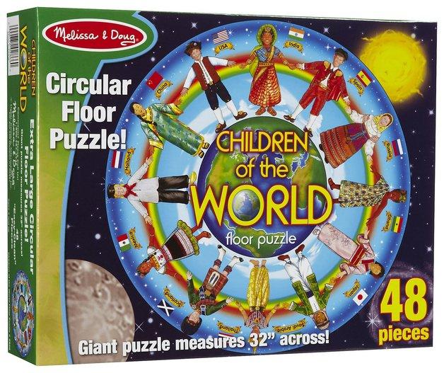 Melissa & Doug: Children of the World Floor Puzzle