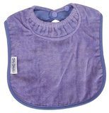 Silly Billyz Towel Large Bib (Lilac)