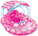 Wahu - Nippas Swim Ring w/Seat & Canopy (Assorted Colours)