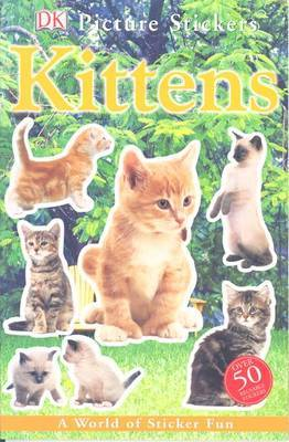 Kittens: A World of Sticker Fun by DK Publishing image