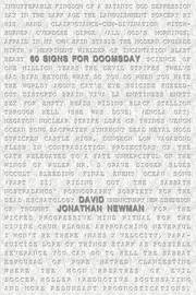 60 Signs for Doomsday by David Jonathan Newman image