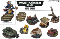 Warhammer 40,000 Hero Bases image