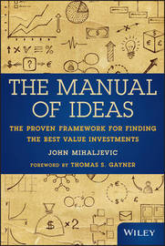 The Manual of Ideas by John Mihaljevic