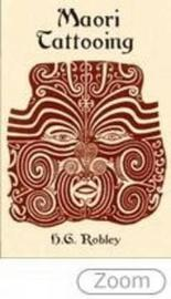 Maori Tattooing by H.G.Robley