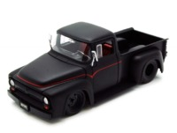 Jada: 1/24 Btm Ford F100 – Diecast Model (Black) image