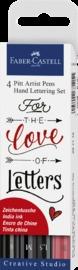 Faber-Castell: Pitt Artist Pens Hand Lettering (Set of 4) image