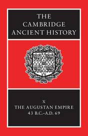 The Cambridge Ancient History 14 Volume Set in 19 Hardback Parts: Volume 10 image