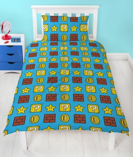 Mario Duvet Cover Set - Single