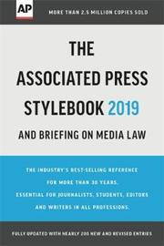 The Associated Press Stylebook 2019 by Associated Press
