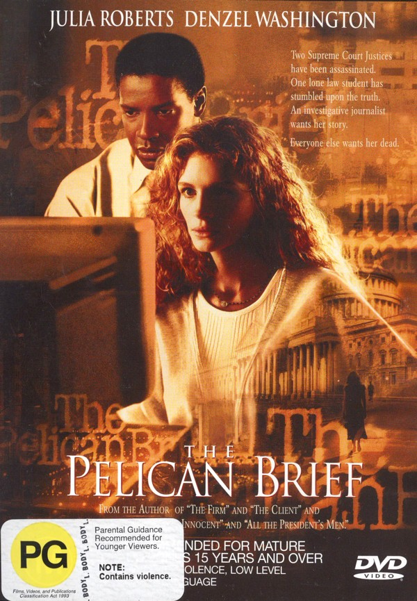 The Pelican Brief on DVD image