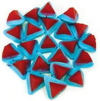 Blue Volcanoes Lollies 1kg - Rainbow Confectionery