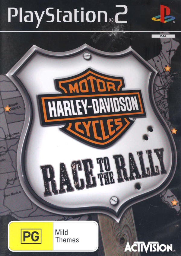 Harley Davidson: Race to the Rally for PlayStation 2 image