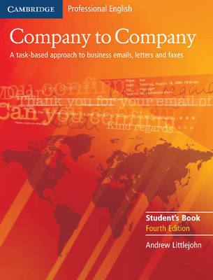 Company to Company Student's Book by Andrew Littlejohn