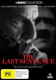The Last Sentence on DVD