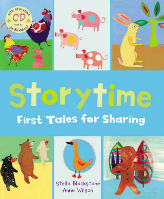 Storytime: First Tales for Sharing by Jim Broadbent image