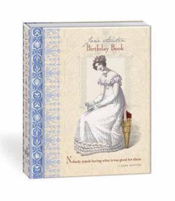 Jane Austen Birthday Book by Potter Style image