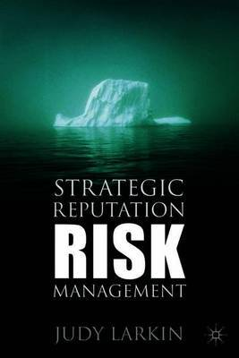 Strategic Reputation Risk Management by Judy Larkin image