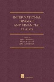 International Divorce and Financial Claims
