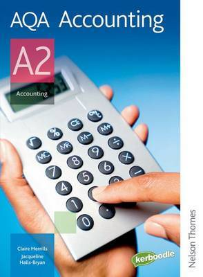 AQA Accounting A2: Student's Book by Jacqueline Halls-Bryan image