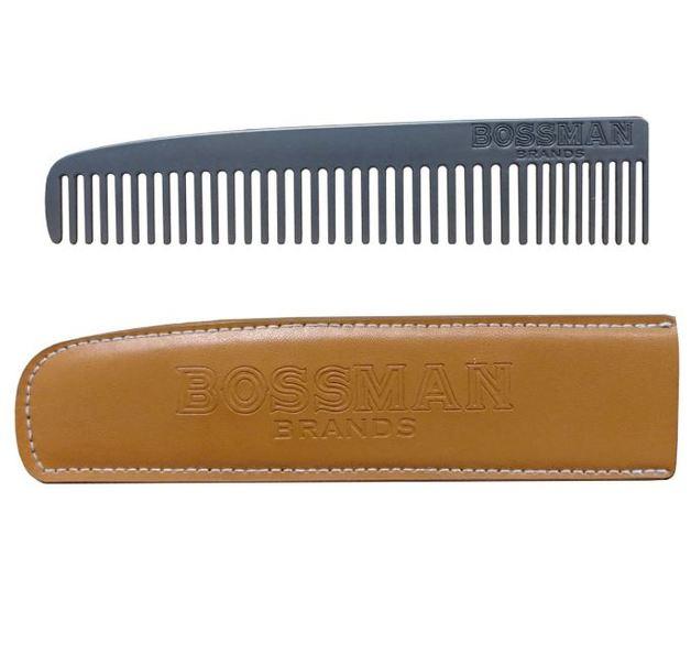 Bossman Metal Beard & Mo Comb