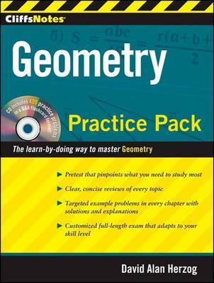 CliffsNotes Geometry Practice Pack by David Alan Herzog