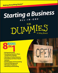 Starting a Business All-In-One For Dummies by Consumer Dummies