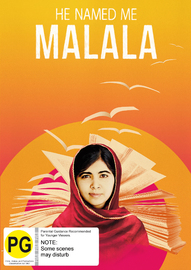He named me Malala on DVD