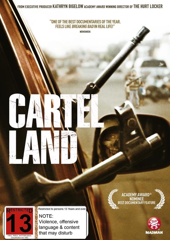 Cartel Land on DVD