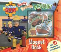 Fireman Sam: Ready Steady Rescue! Magnet Book by Egmont Publishing UK