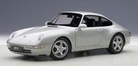 AUTOart 1/18 Porsche 993 Carrera (Silver) Diecast Model